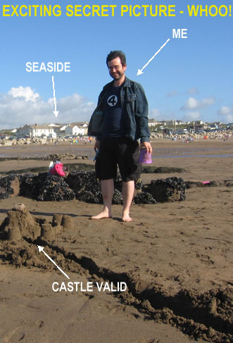 "This was a ""secret"" picture on the album multimedia, showing Castle Valid as built by me and Tim."